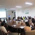 Sherman Robinson教授访问北京办事处并做学术报告