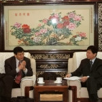 中国农业科学院院长李家洋会见樊胜根所长