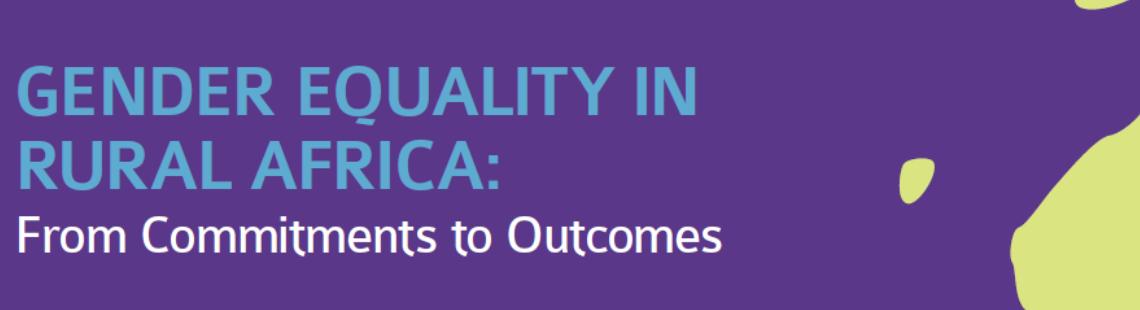 我们需要性别平等以实现非洲农业增长目标:IFPRI新报告