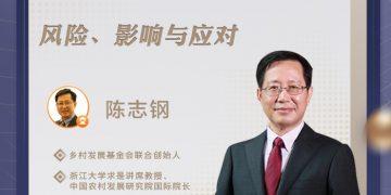 陈志钢教授在搜狐视频探讨疫情下的全球食物安全与营养问题